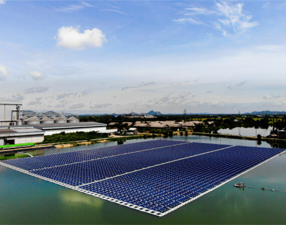 GreenYellow's First Floating Solar Power Plant