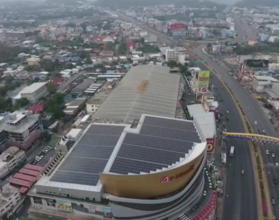 GreenYellow and V-square shopping mall join forces to move towards renewable energy