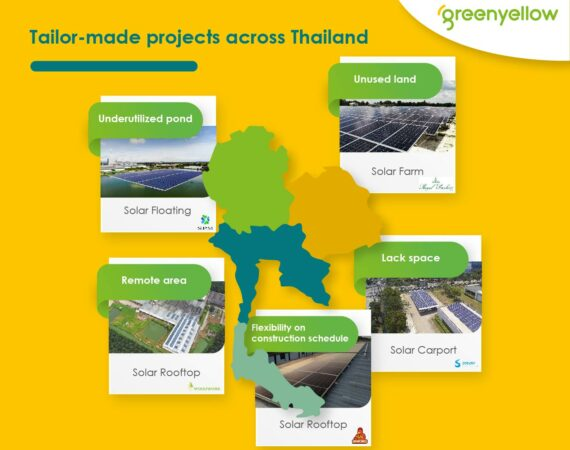 GreenYellow pleased to share tailor-made projects across Thailand